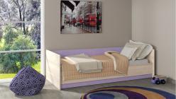 Кровать ПМ 145.02 Индиго (ТриЯ)