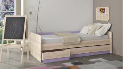 Кровать ПМ 145.15 Индиго (ТриЯ)