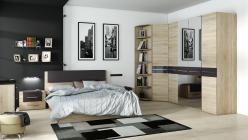 Спальный гарнитур Ларго Какао К2 (ТриЯ)