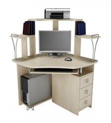 Угловой компьютерный стол Фортуна-35 (Витра)
