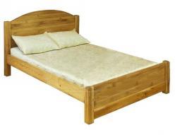 Кровать LMEX 200 PB (с низким изножьем) (Волшебная сосна)