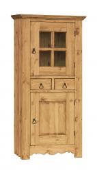 Шкаф-витрина GRAND HOMME DEBOUT (GD.HOM.DEB.V) [Массив сосны] (Волшебная сосна)