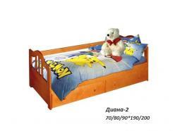 """Детская кровать """"Диана-2"""" (ВМК Шале)"""
