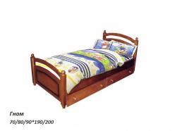"""Детская кровать """"Гном"""" из массива сосны (ВМК Шале)"""