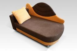 """Мини диван """"Черепашка"""" (Малина)"""