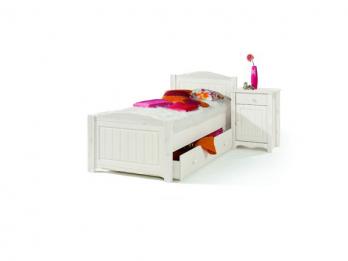 Детская кровать Милано с ящиком выкатным, 90х200 (Sanremi)Sanremi Детская кровать Милано с ящиком выкатным, 90х200