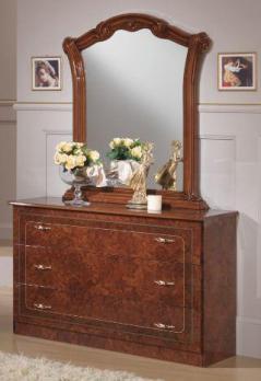 диа комод и зеркало для спальни виктория купить с доставкой по