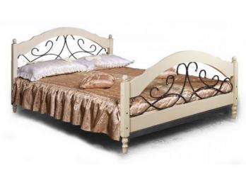 «Фиерта 48.02.1» Кровать с ковкой (160 х 200) (Фандок)Фандок «Фиерта 48.02.1» Кровать с ковкой (160 х 200)