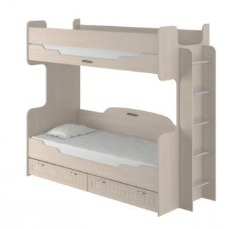 "Кровать двухъярусная ""Соната"" ИД 01.164а (Интеди)Интеди Кровать двухъярусная ""Соната"" ИД 01.164а"