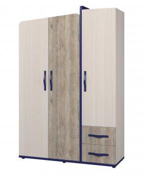 Шкаф для одежды 3-х дверный «Тайм» ИД 01.347 (Интеди)Интеди Шкаф для одежды 3-х дверный «Тайм» ИД 01.347