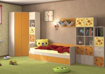 Детская Тетрис №3 (НИК Мебель)НИК Мебель Детская Тетрис №3