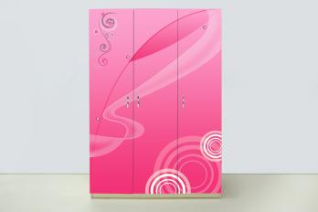 Шкаф 3-х дверный Принцесса (ВиВера мебель)ВиВера мебель Шкаф 3-х дверный Принцесса