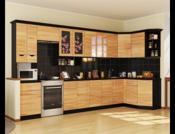 """Угловая кухня """"Сакура 4"""" (РОСТ)РОСТ Угловая кухня """"Сакура 4"""""""