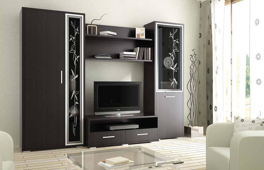 Стенка агат 8b — российская мебель