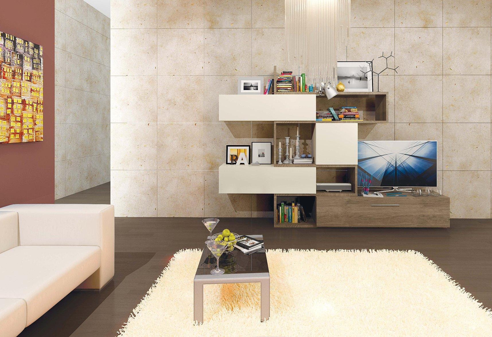 Товар мебель для гостиной 'rovenna 2' ясень малина песочный .