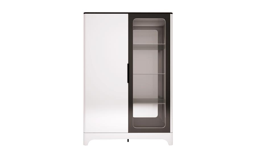 16 «Танго» Шкаф комбинированный 2-х дверный