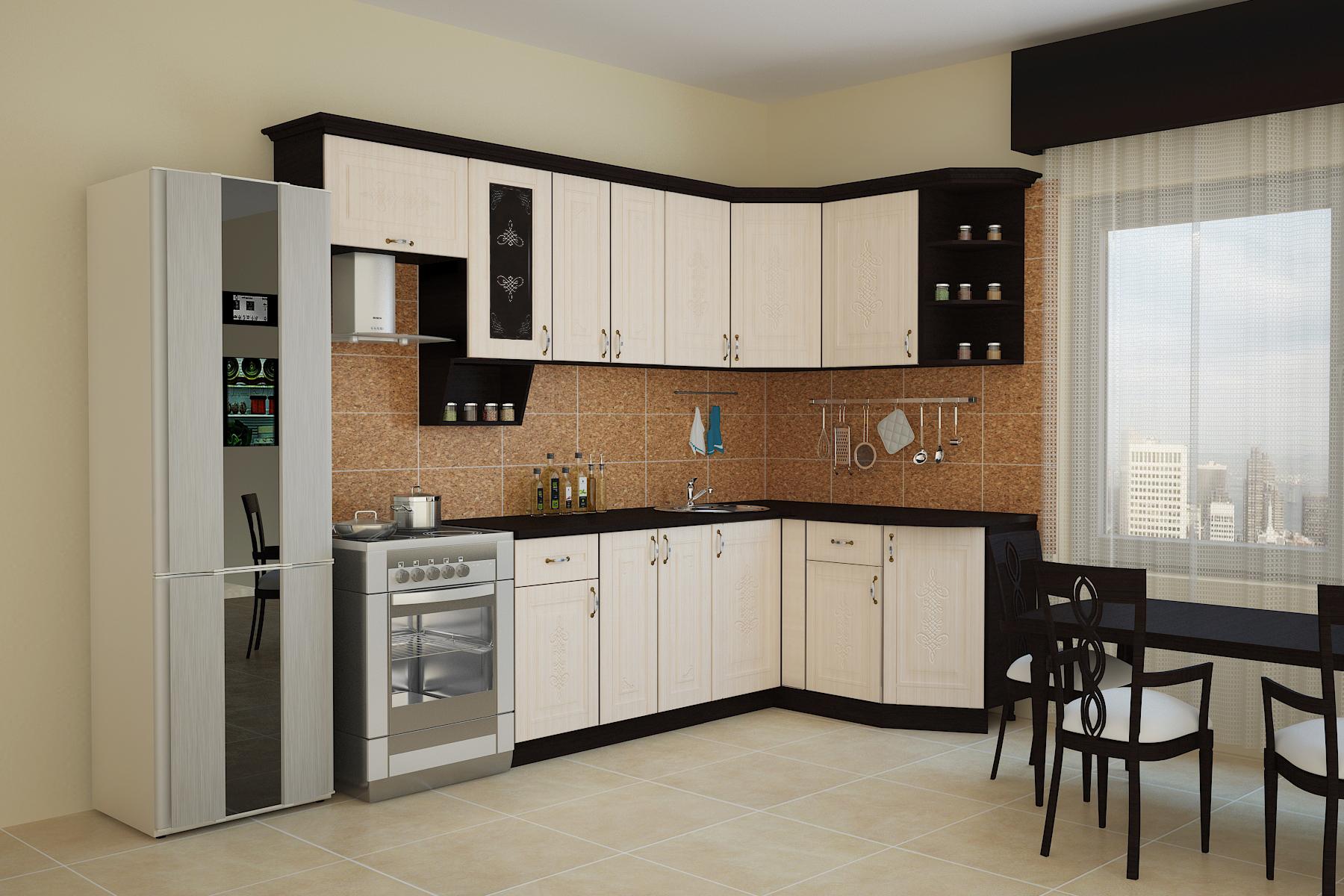 Угловая кухня Беларусь 1