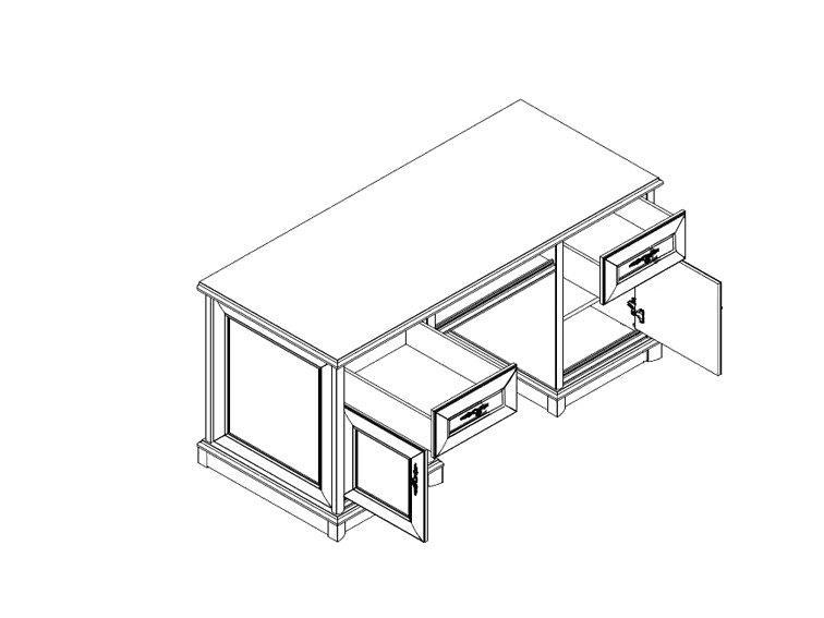 Соната - Кент Стол компьютерный каштан EBIU-158