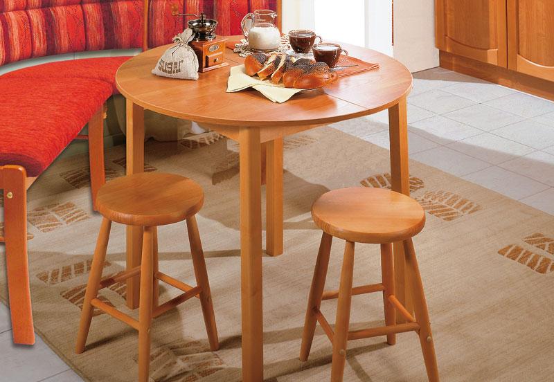 Обеденный стол Стол обеденный раздвижной с круглой крышкой