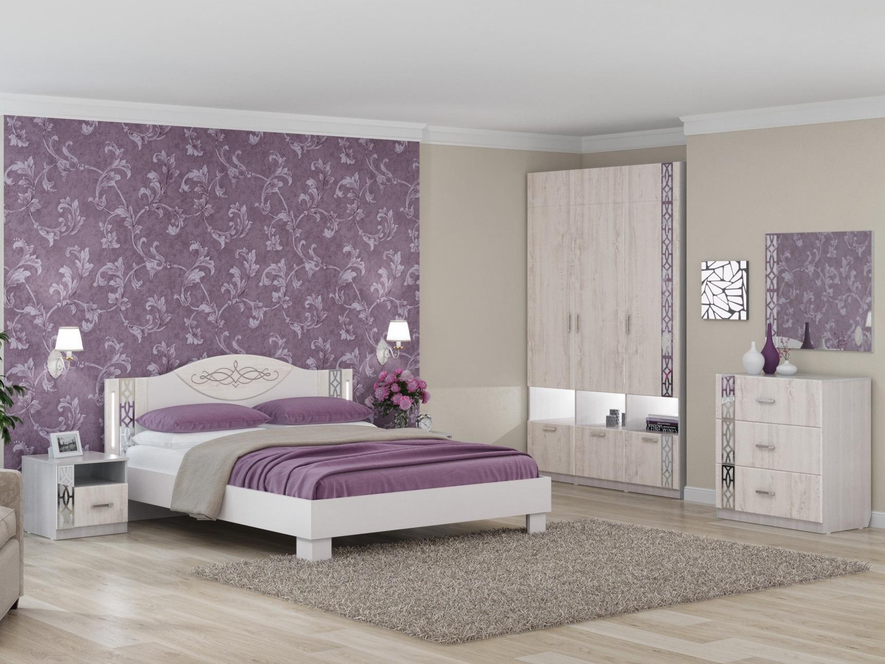 спальня белла белая фото пушистому животному